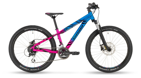 "STEVENS - Team RC 24"" Blue Pink"