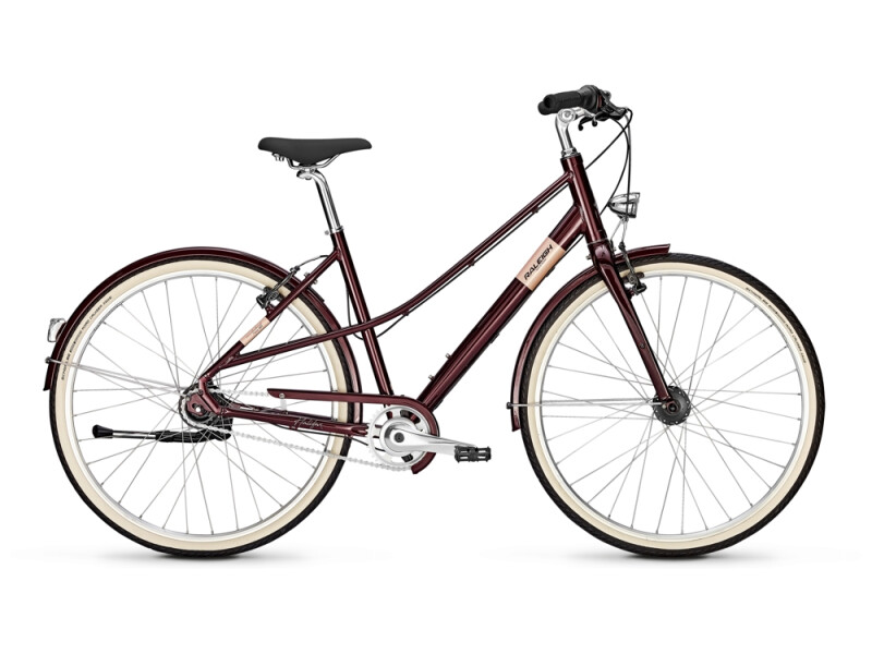 Raleigh HALIFAX 8 Mixte mahagonyred