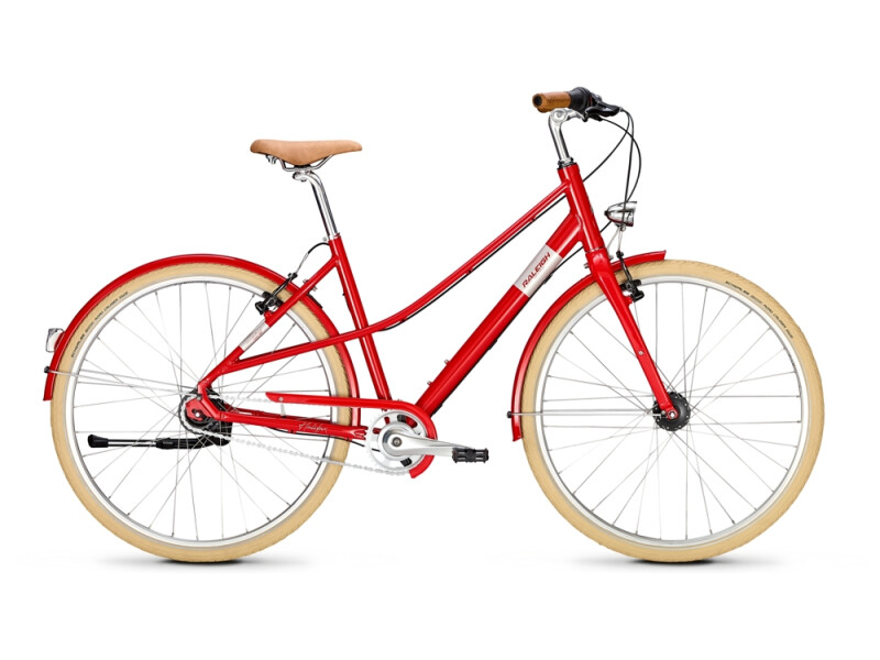 Raleigh HALIFAX 8 Mixte firered
