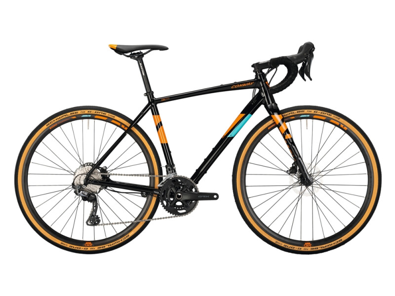 Conway GRV 800 Alu black / orange