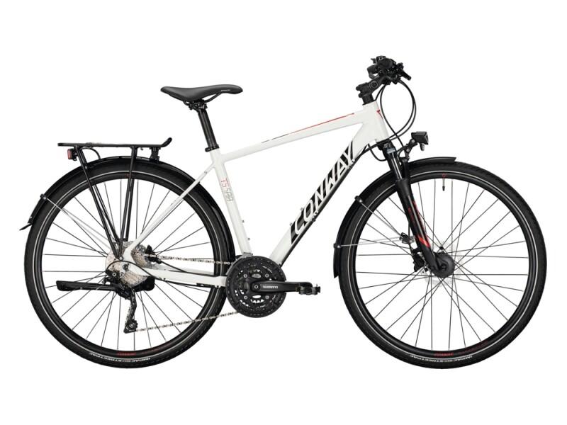 Conway TS 500 Trapez white / black