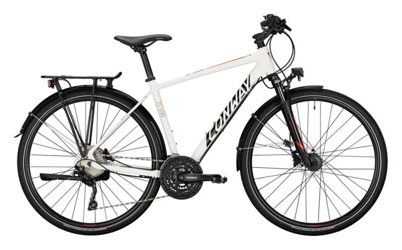 Conway TS 500 Diamant white / black