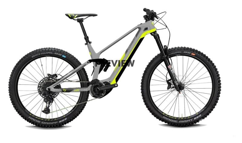 Conway eWME 329 light grey / acid e-Mountainbike