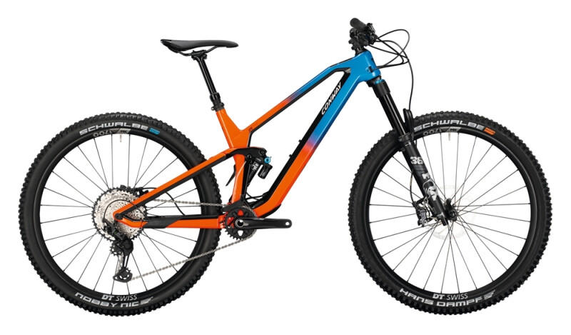 Conway WME 729 pearl red / blue fade Mountainbike