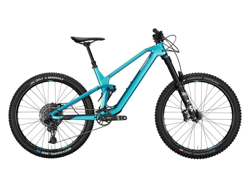 Conway WME 427 metallic turquoise / dark petrol