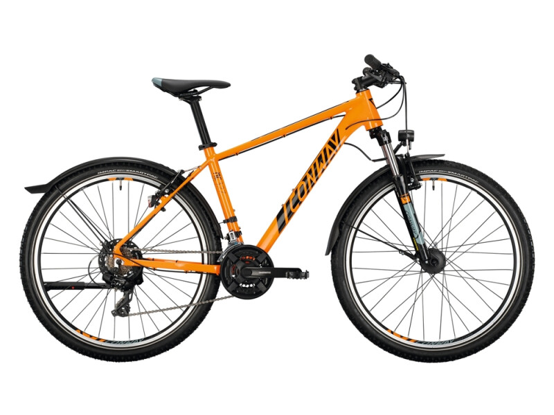 Conway MC 327 orange / black