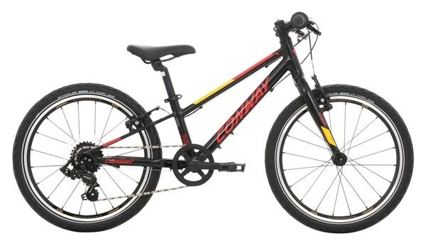 CONWAY - MS 200 Rigid black / red