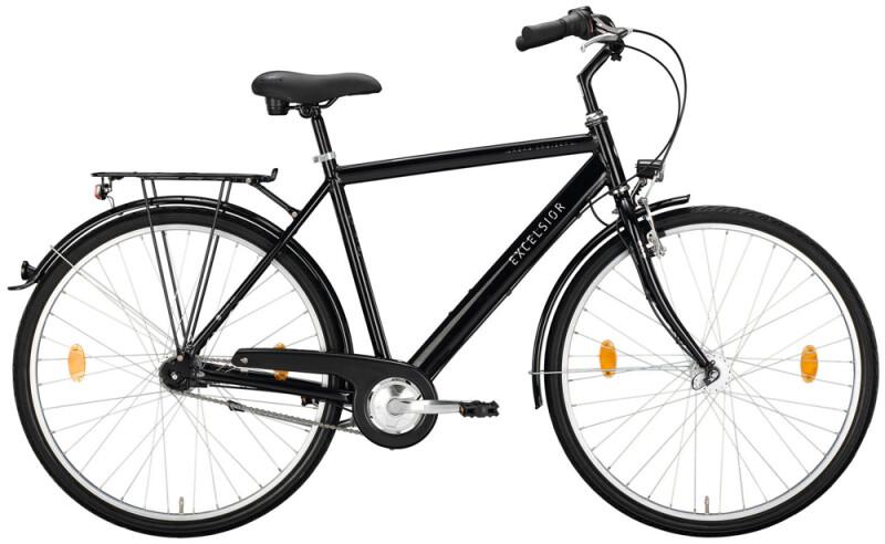 Excelsior Road Cruiser Alu ND schwarz Citybike