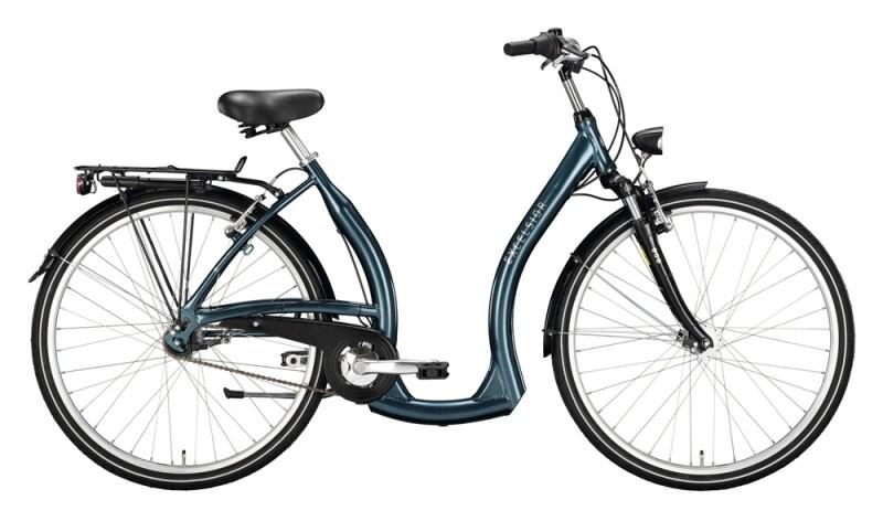Excelsior Tiefeinsteiger Alu FG ND blau Citybike