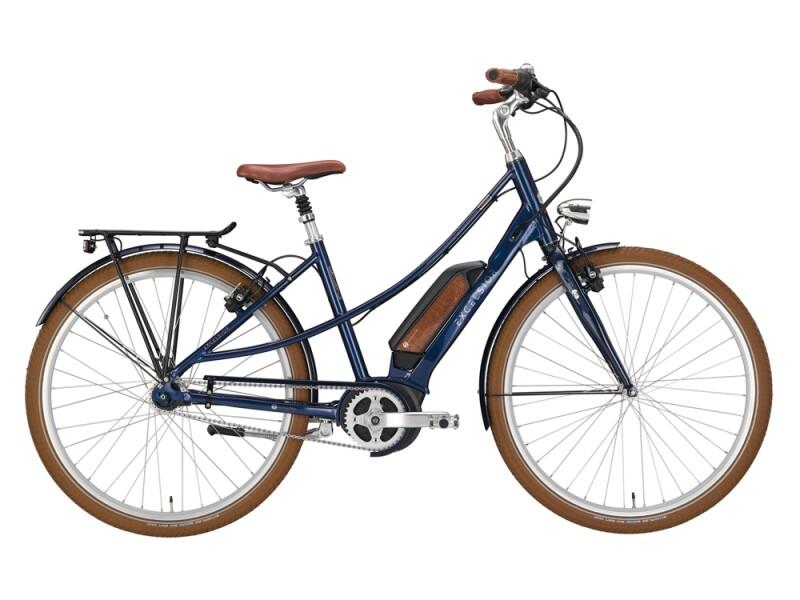 Excelsior Vintage E blau