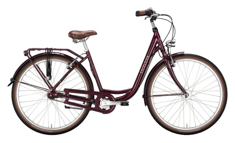 Excelsior Swan-Urban violett Citybike
