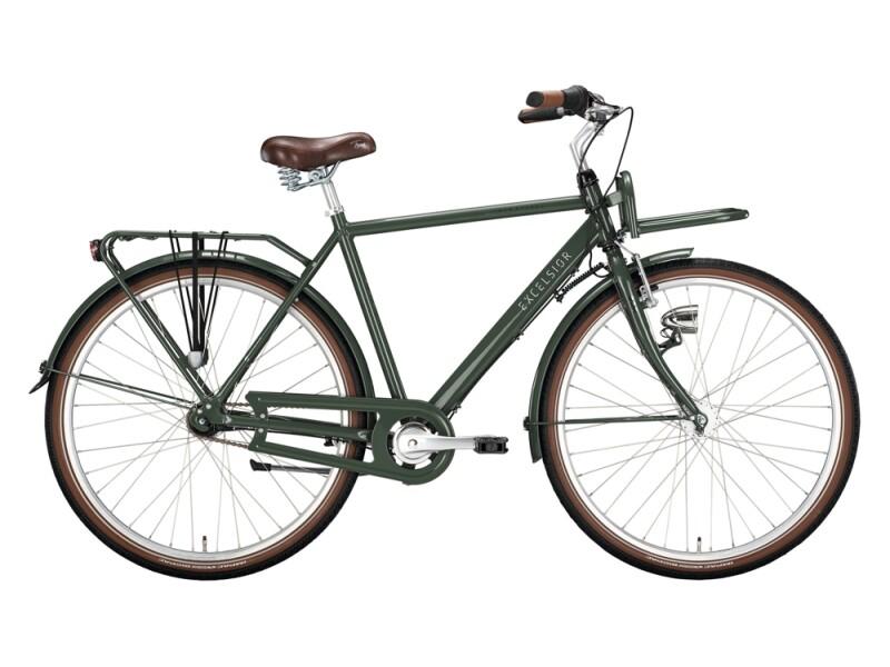 Excelsior Swan-Retro FT Alu grün