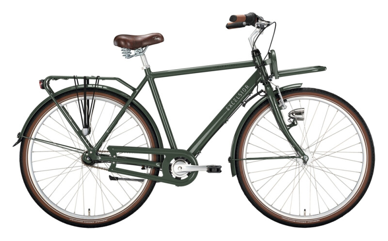 Excelsior Swan-Retro FT Alu grün Citybike