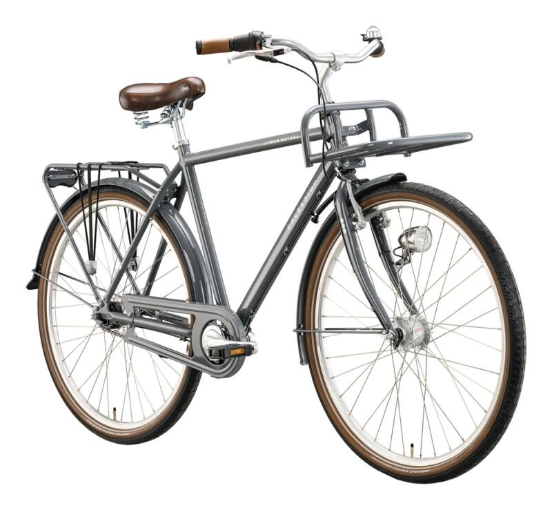 Excelsior Swan-Retro FT Alu grau Citybike