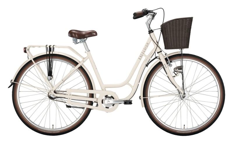 Excelsior Swan-Retro Alu FW beige Citybike