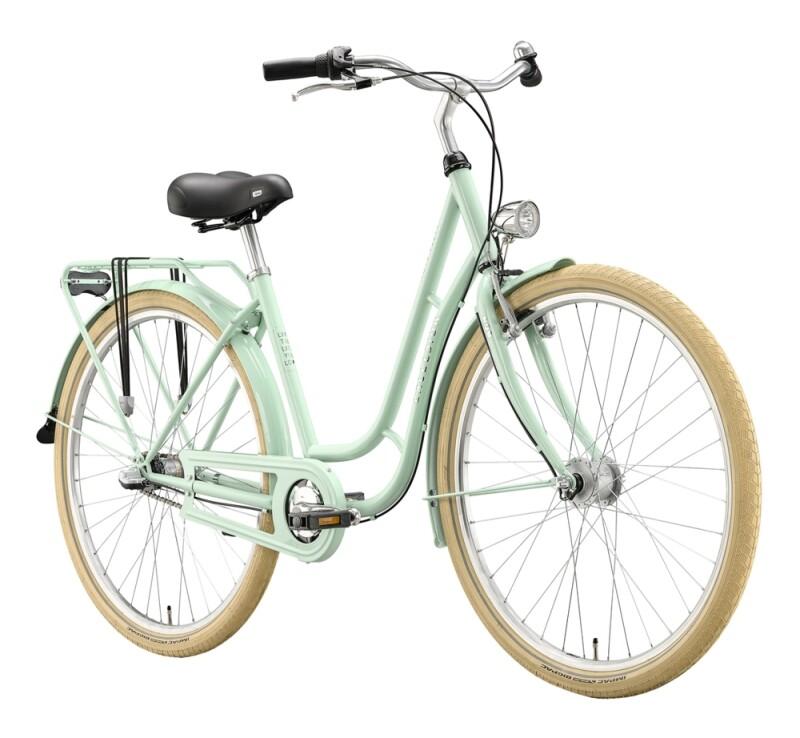 Excelsior Swan-Retro grün Citybike