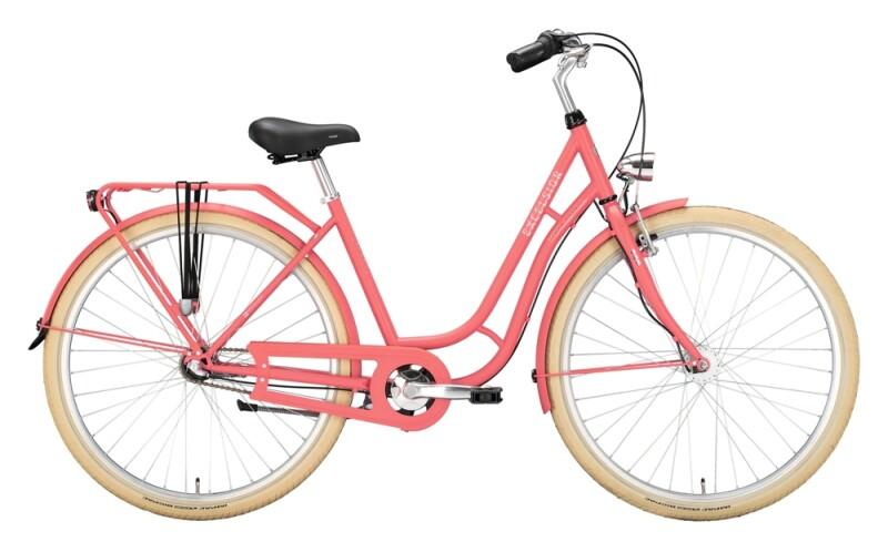 Excelsior Swan-Retro rosa Citybike