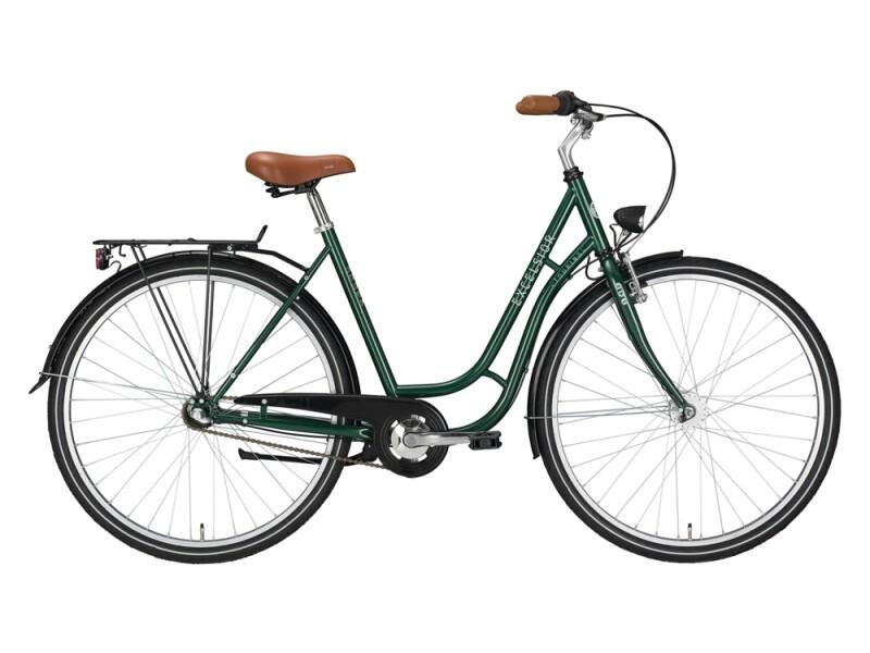 Excelsior Touring ND grün, braun