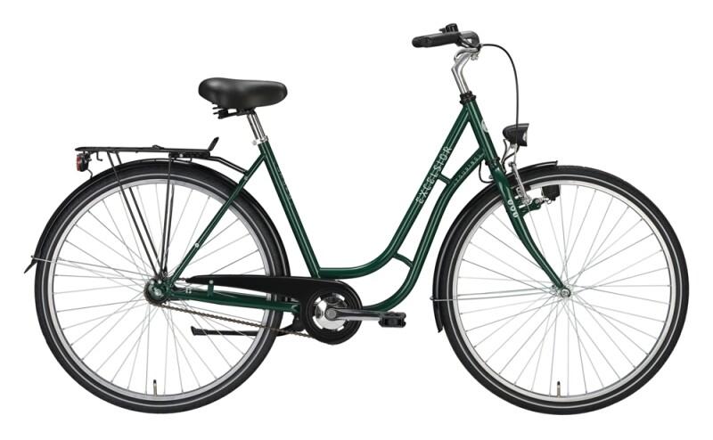 Excelsior Touring grün Citybike