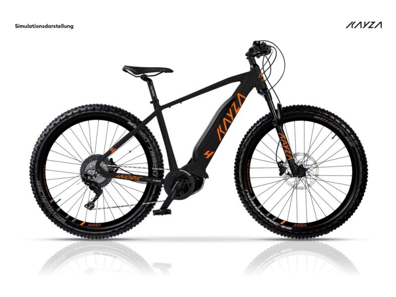 KAYZA Hydric 4 schwarz, orange