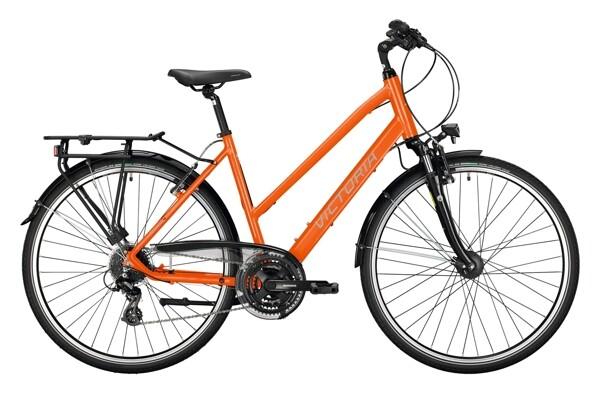 VICTORIA - Trekking 2.7 orange, schwarz