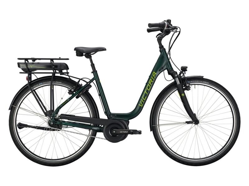 Victoria eTrekking 5.9 grün, grau