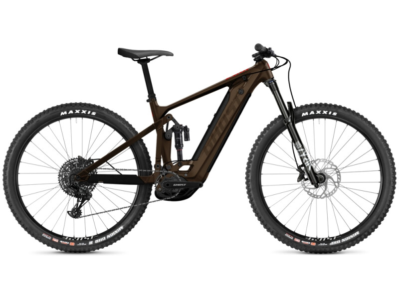 Ghost E-Riot Trail CF Advanced brown