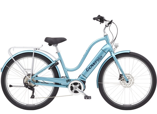 ELECTRA BICYCLE - Townie Path Go! 10D EQ Step-Thru Aqua Metallic