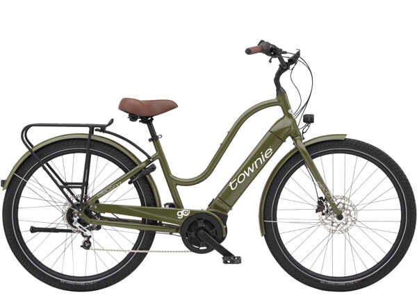 ELECTRA BICYCLE - Townie Path Go! 5i Step-Thru Olive