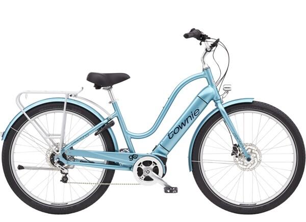 ELECTRA BICYCLE - Townie Path Go! 5i Step-Thru Aqua Metallic
