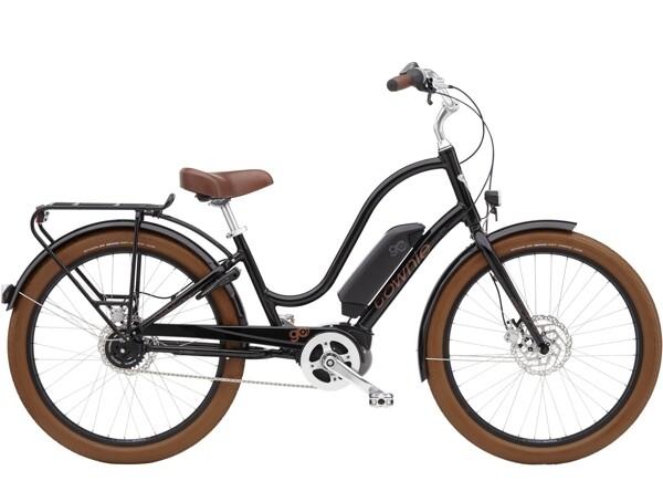 ELECTRA BICYCLE - Townie Go! 5i Step-Thru Ebony