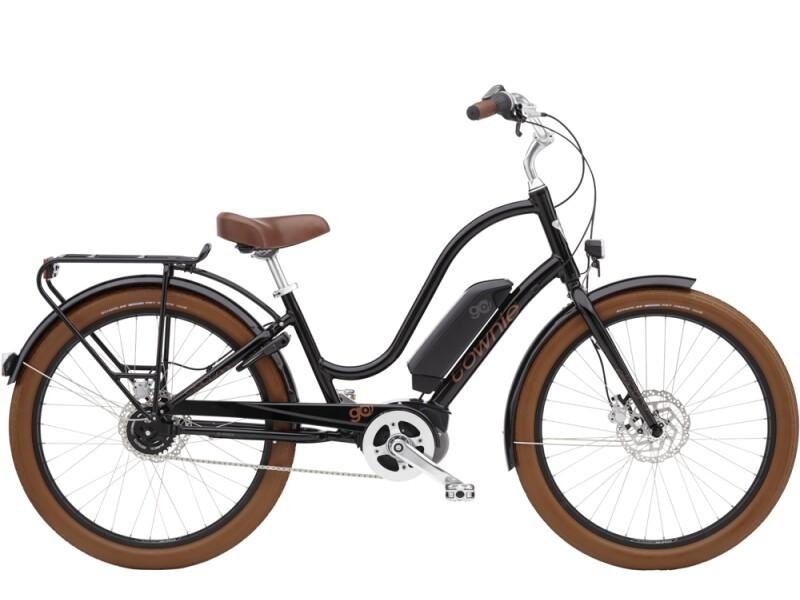 Electra Bicycle Townie Go! 5i Step-Thru Ebony