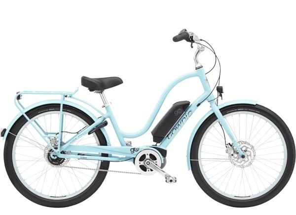 ELECTRA BICYCLE - Townie Go! 5i Step-Thru Glacier Blue
