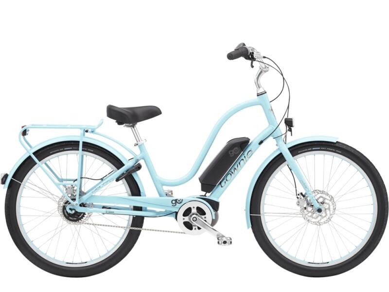 Electra Bicycle Townie Go! 5i Step-Thru Glacier Blue