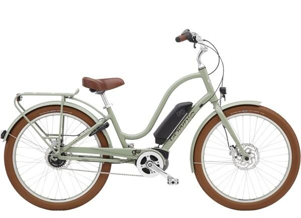 ELECTRA BICYCLE - Townie Go! 5i Step-Thru Green Tea