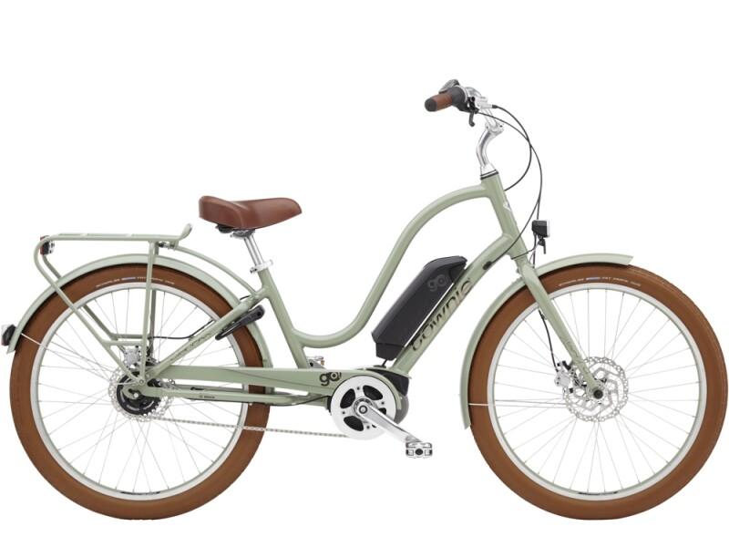 Electra Bicycle Townie Go! 5i Step-Thru Green Tea
