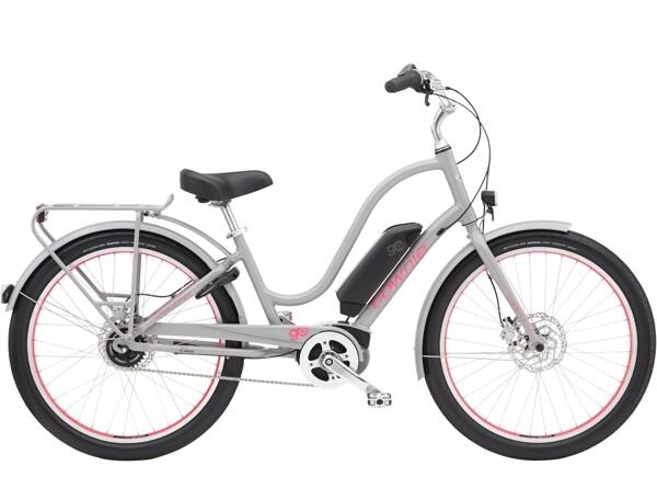 ELECTRA BICYCLE - Townie Go! 5i Step-Thru Cloud Grey