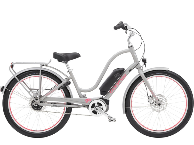 Electra Bicycle Townie Go! 5i Step-Thru Cloud Grey