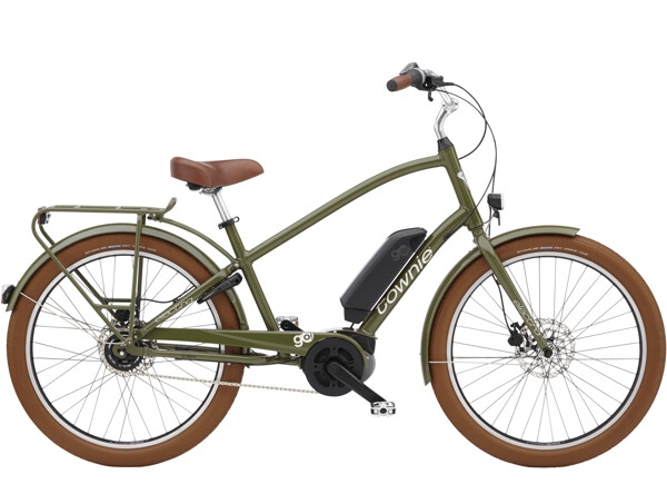 ELECTRA BICYCLE - Townie Go! 5i Step-Over Olive