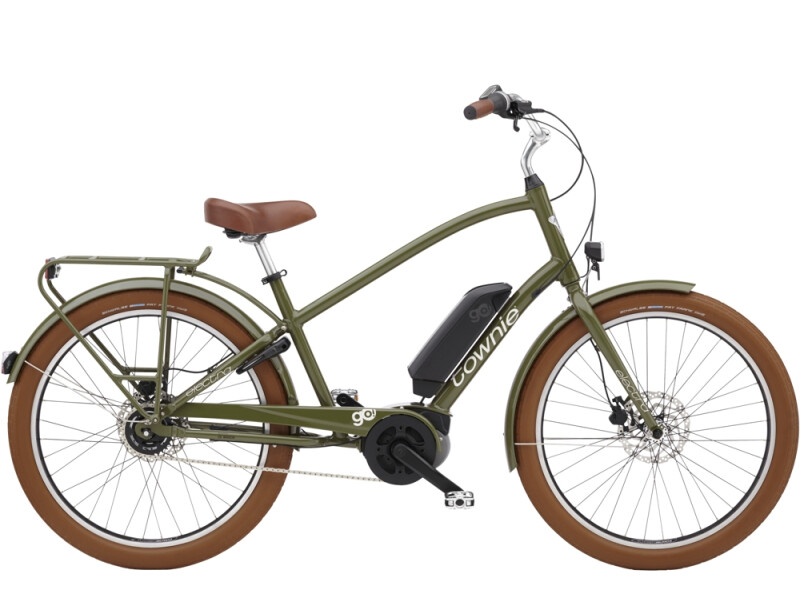Electra Bicycle Townie Go! 5i Step-Over Olive