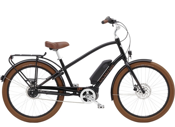 ELECTRA BICYCLE - Townie Go! 5i Step-Over Ebony