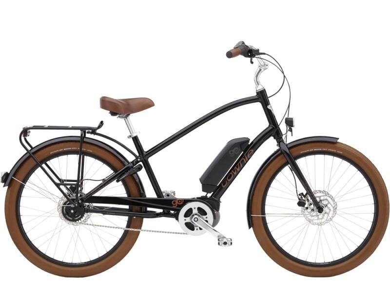 Electra Bicycle Townie Go! 5i Step-Over Ebony