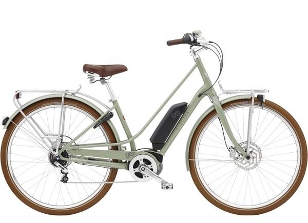 ELECTRA BICYCLE - Loft Go! 5i Step-Thru 500Wh Green Tea