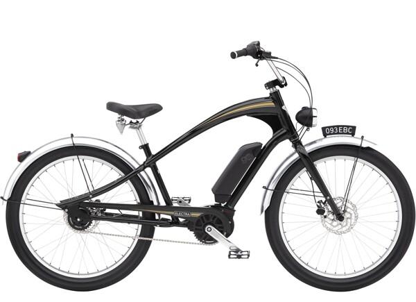 ELECTRA BICYCLE - Ghostrider Go! Black Shadow
