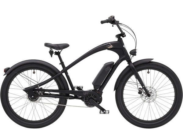 ELECTRA BICYCLE - Ace of Spades Go! Matte Black