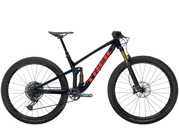 TREK - Top Fuel 9.9 X01 Blau/Rot