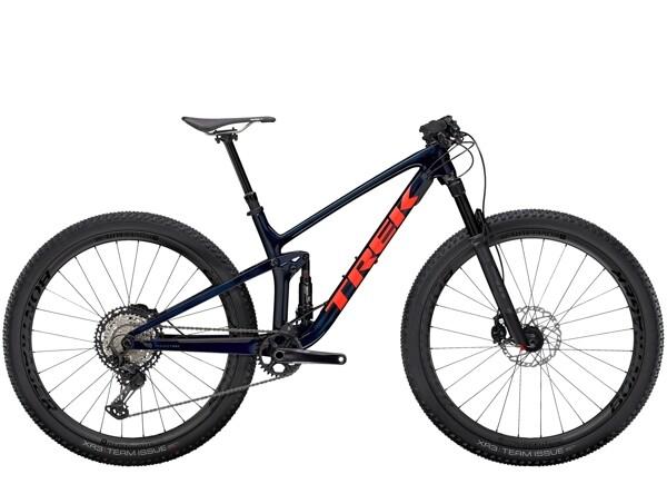 TREK - Top Fuel 9.8 XT Blau/Rot
