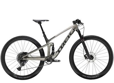 Trek - Top Fuel 9.7 Silber/Schwarz