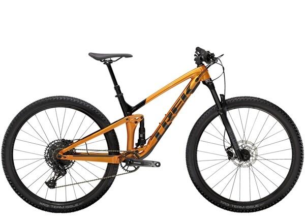 TREK - Top Fuel 7 SX Orange/Schwarz