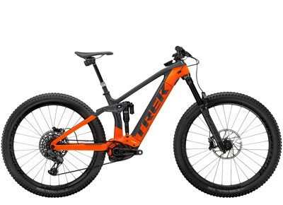 Trek - Rail 9.9 X01 AXS Anthrazit/Orange